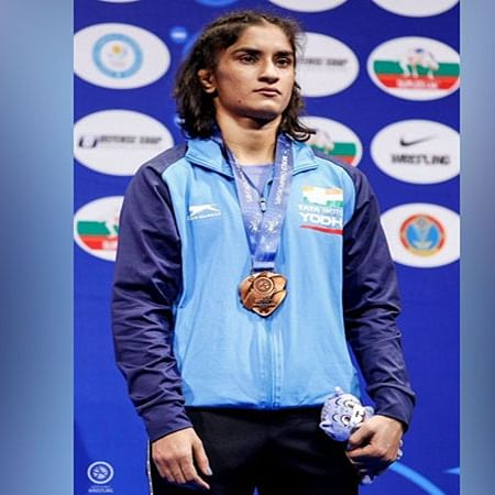 Wrestler Vinesh Phogat questions Padma awards list