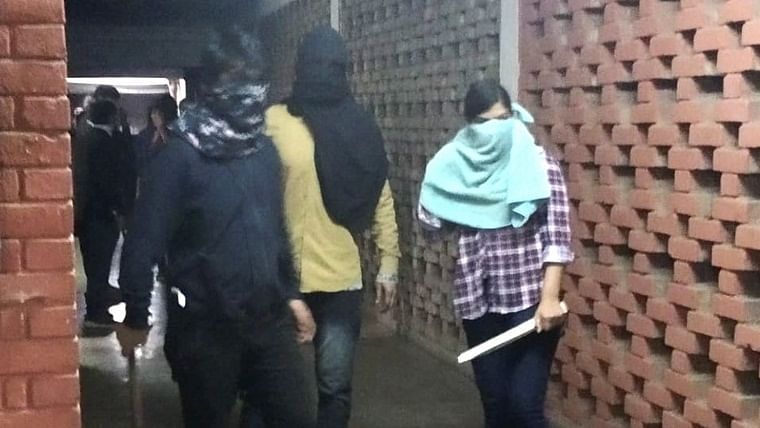 Police identify masked female assailant from the violent attack in JNU as DU student