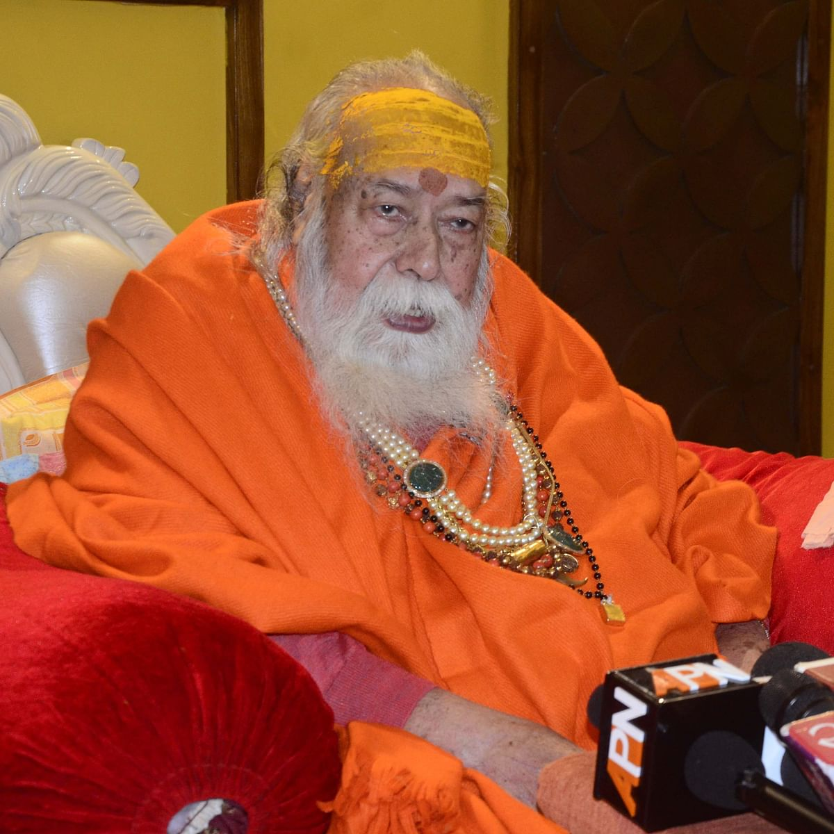 Bhopal: No need for CAA, says Shankaracharya Swaroopanand Saraswati