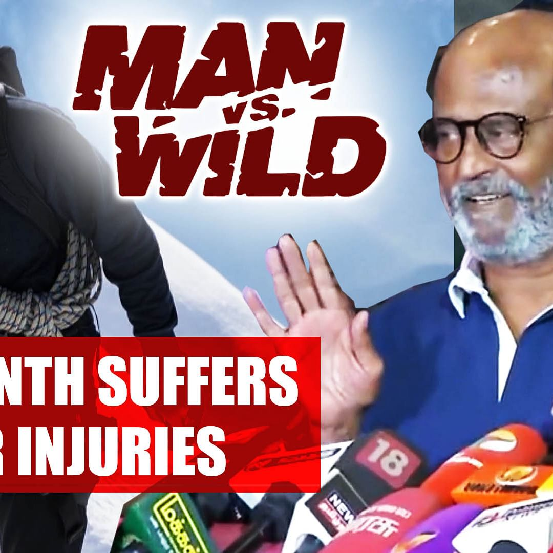 'Man vs Wild': Rajinikanth suffers minor injuries during shoot