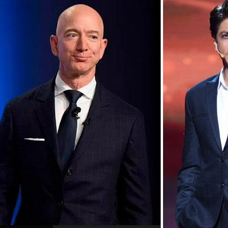 Shah Rukh Khan to have a freewheeling chat with Amazon founder Jeff Bezos in Mumbai