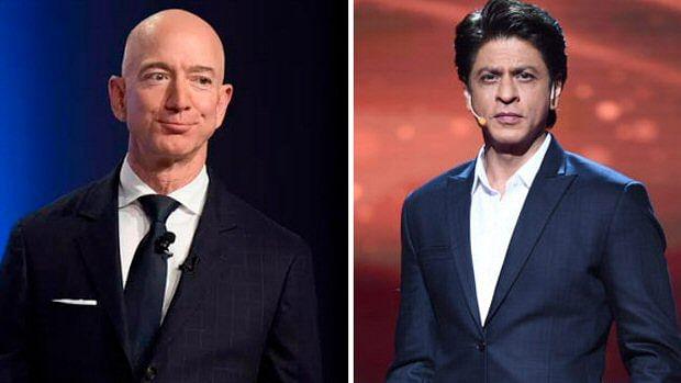 Shah Rukh Khan to have a freewheeling chat with Amazon founder Jeff Bezos in Mumbai