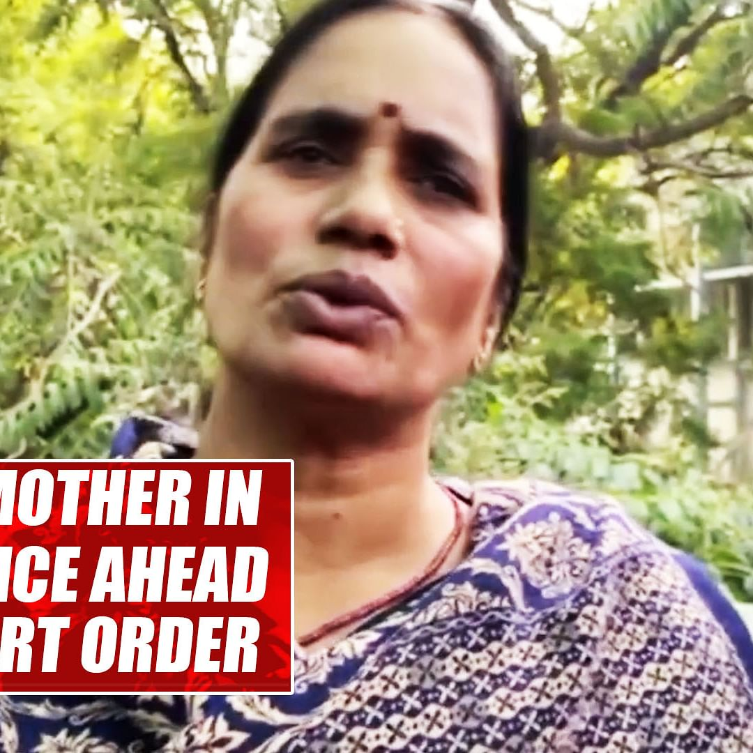 Nirbhaya's mother in hope of justice ahead of Delhi court order