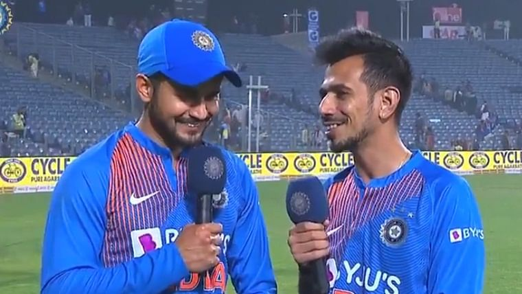 'I am happy to contribute to the side's winning cause': Manish Pandey makes his debut on Chahal TV