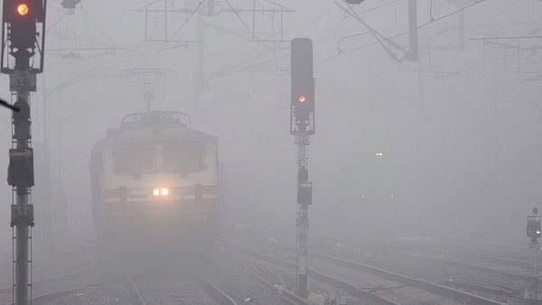 21 trains running late due to low visibility in the Northern Railway region
