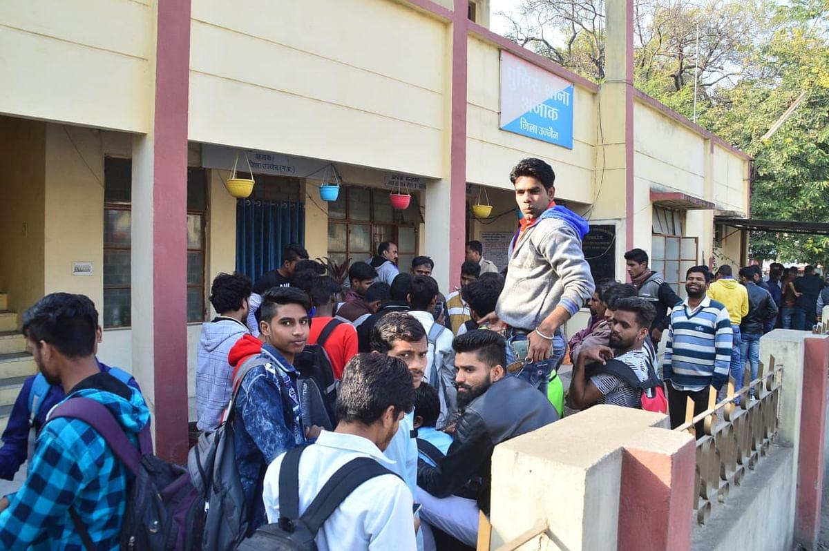 Ujjain: Ruckus at Polytechnic College, invigilator & students file cross complaints