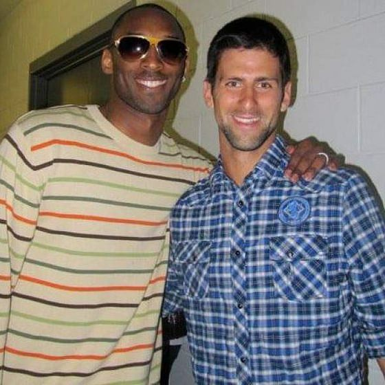 'He was always there for me as my mentor': Novak Djokovic mourns the loss of NBA legend Kobe Bryant