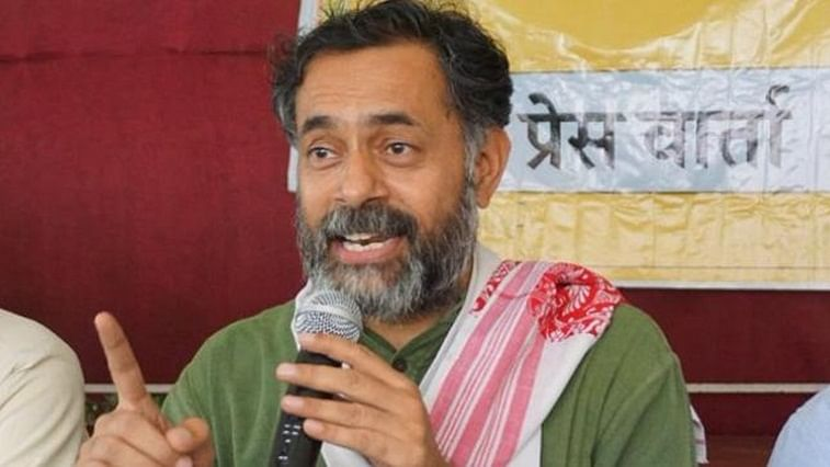 Swaraj India chief Yogendra Yadav