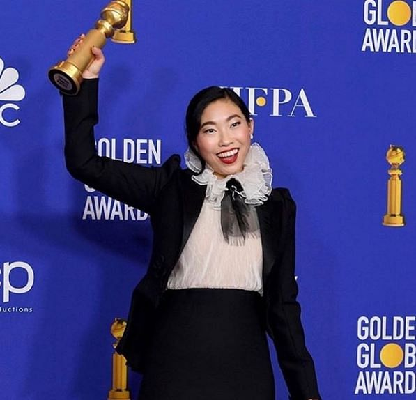 American actress Awkwafina