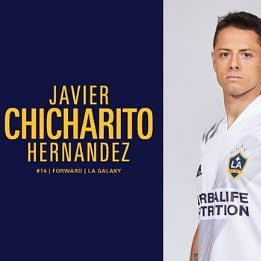 Mexican footballer Javier Chicharito Hernandez signs 3-year contract for LA Galaxy