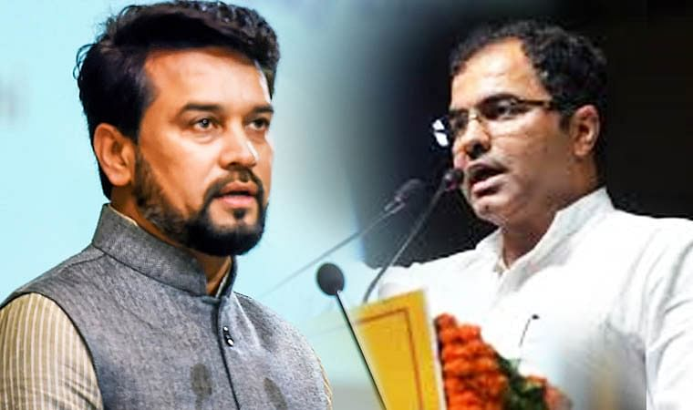 Delhi Elections 2020: EC orders removal of  Anurag Thakur, MP Parvesh Verma as BJP campaigners