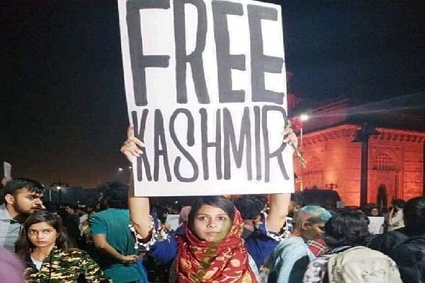 Mumbai Police record statement of woman who held 'Free Kashmir' poster