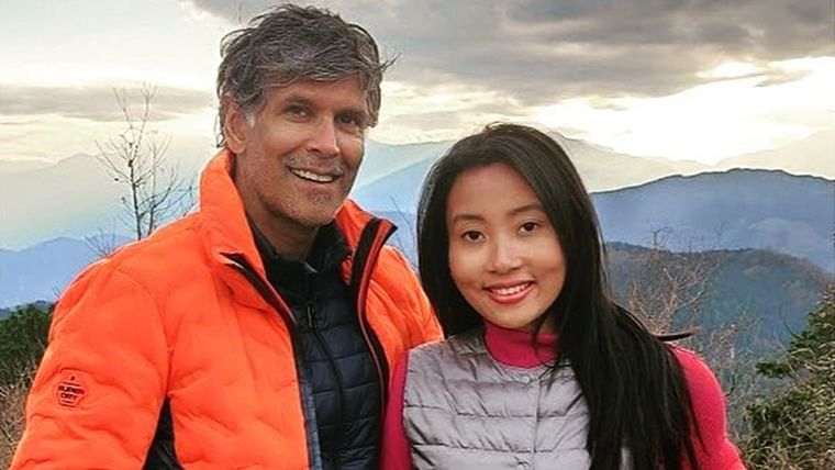 Watch: Milind Soman, wife Ankita Konwar wish fans 'Happy Bihu' in a unique way
