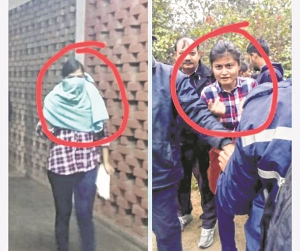 JNU violence: 'It was not me'