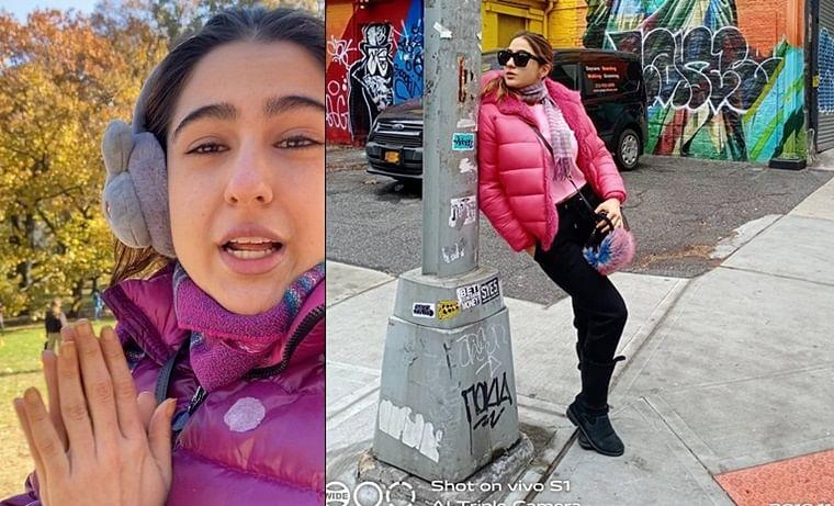 Sara Ali Khan shares hilarious throwback video, takes fans around Central Park