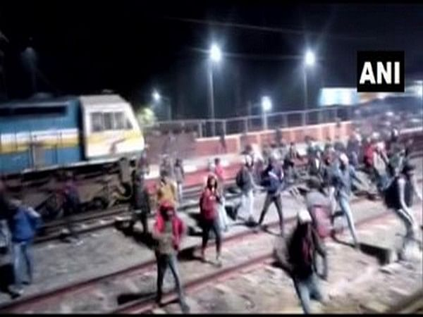 FIR registered after police exam candidates create ruckus at Bihar railway station
