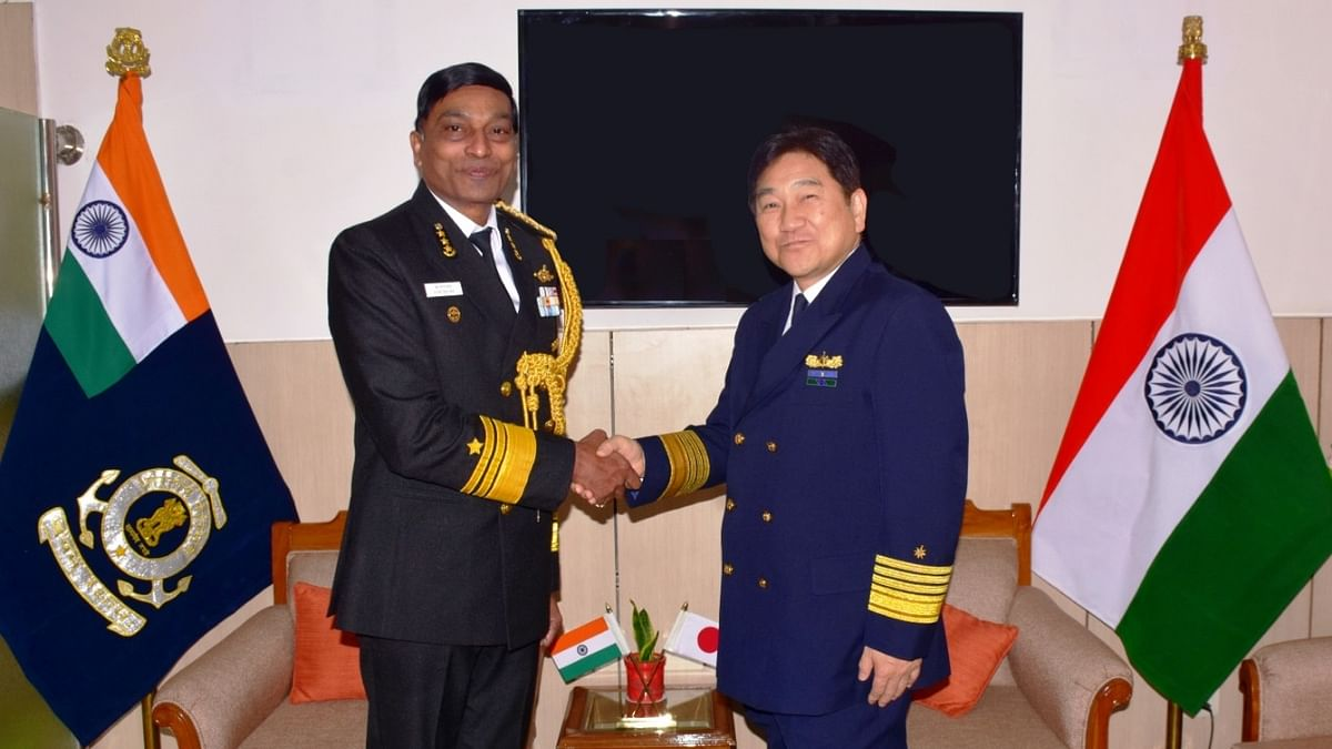 Indian Coast Guard holds high level meeting with Japan Coast Guard
