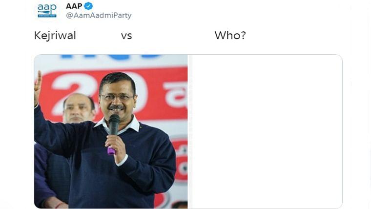 Delhi Elections 2020: AAP asks 'Kejriwal versus who'