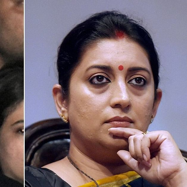 'Deepika Padukone's Congress leanings known since 2011': Smriti Irani hits out at actor for attending JNU protest