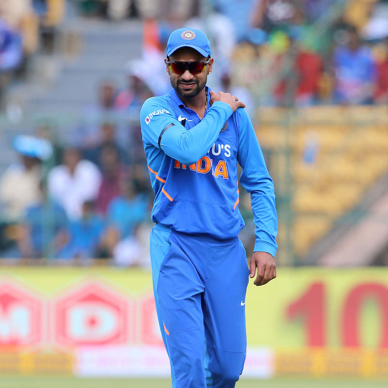 IND vs NZ T20I: Shoulder injury keeps Shikhar Dhawan away