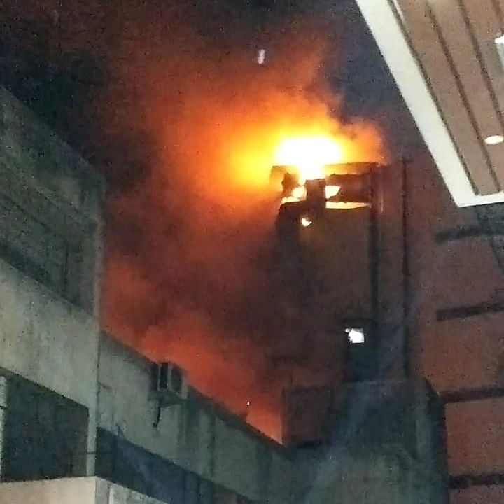 Indore: Fire at Crown Palace hotel
