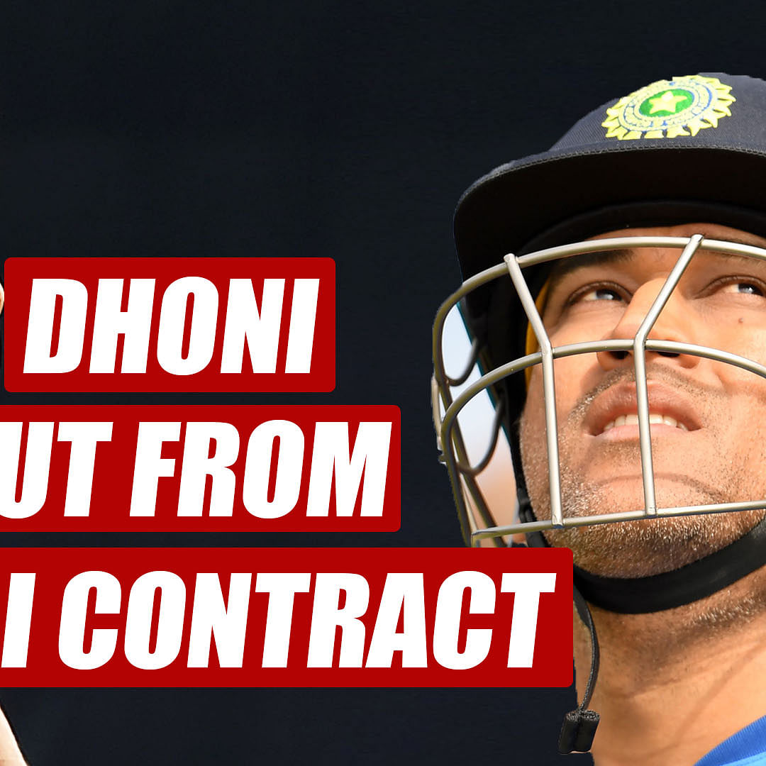 End of MS Dhoni's era? Captain Cool not included in BCCI's annual contract