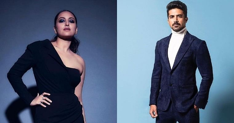 'Are u fotugrapher'?: Saqib Saleem's hilarious comment on Sonakshi's psychedelic New Year picture