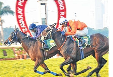 Derby race: Caesar pips awesome