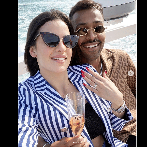 'Mai tera, tu meri': Hardik Pandya gets engaged to Nataša Stanković; watch video of proposal