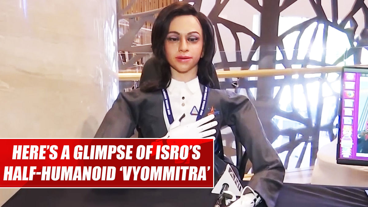 Meet ISRO's half-humanoid 'Vyom Mitra' who's all set to ride to space