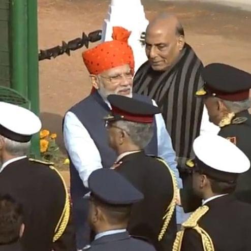 Republic Day 2020 Parade Updates: President Kovind, PM Modi, arrive at Rajpath; parade begins