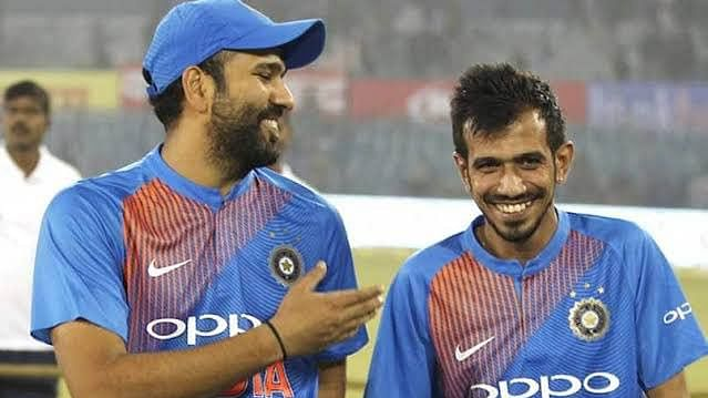 Yuzvendra Chahal trolls Rohit Sharma over Real Madrid title win celebration post