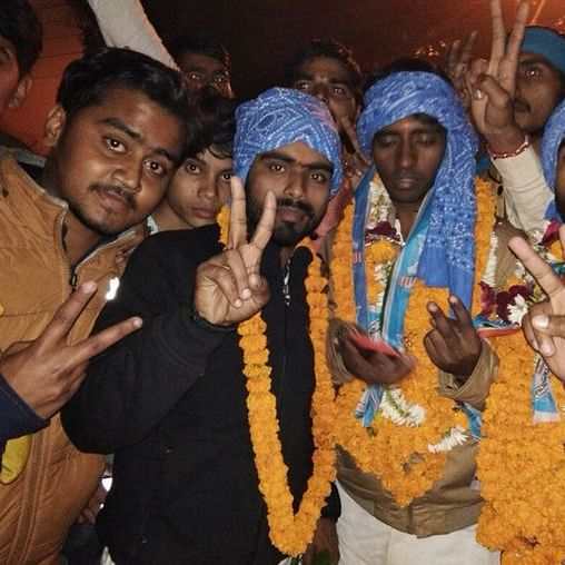 NSUI clean sweeps Sanskrit University of Varanasi defeating ABVP