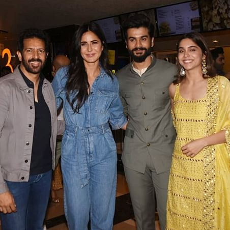 Katrina Kaif comes in support of rumoured beau Vicky Kaushal's brother Sunny at 'The Forgotten Army' screening