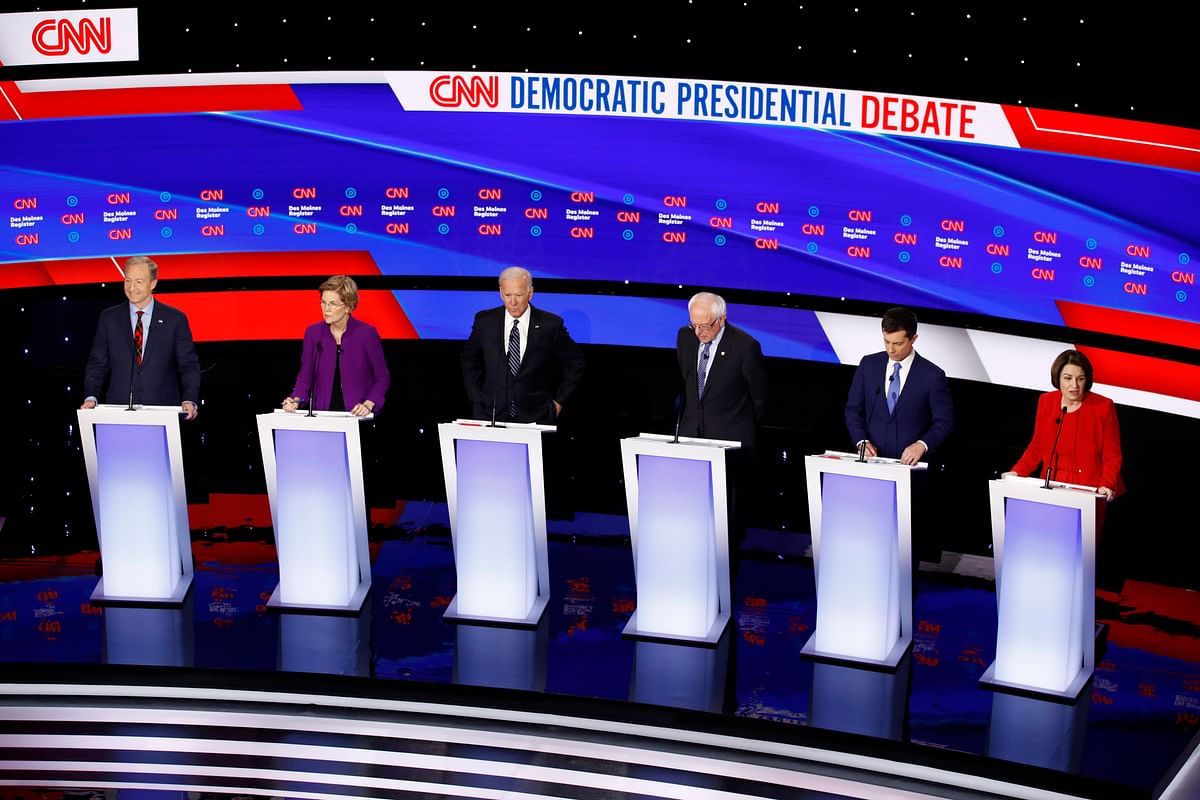 US Prez polls: Democrats debate over war, gender