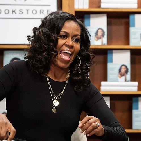 Former US First Lady Michelle Obama wins a Grammy for best spoken word album