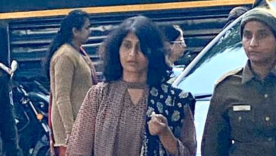 Shweta Vijay Jain the kingpin of the Honeytap Episode in MP comes out of court.