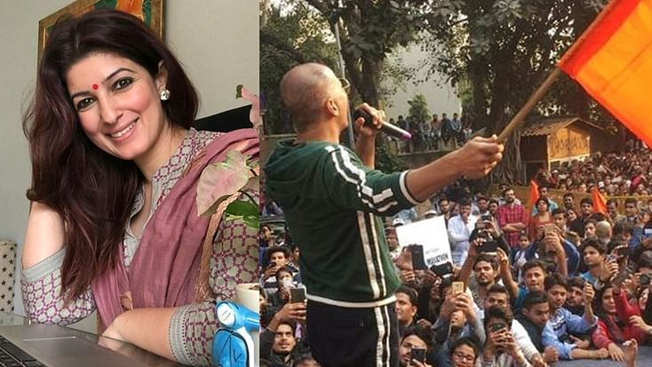 'Your husband held an ABVP flag': Twinkle Khanna trolled for comments on JNU violence