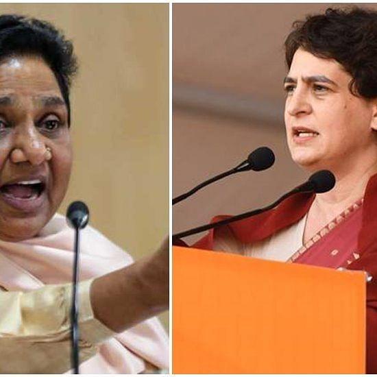 'Theatrics to realise vested interests', says Mayawati even as Priyanka Gandhi offers prayers on Ravidas Jayanti
