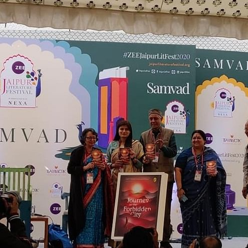 Zee Jaipur Literature Festival: Puffin releases Deepa Agarwal's 'Journey to the Forbidden City'
