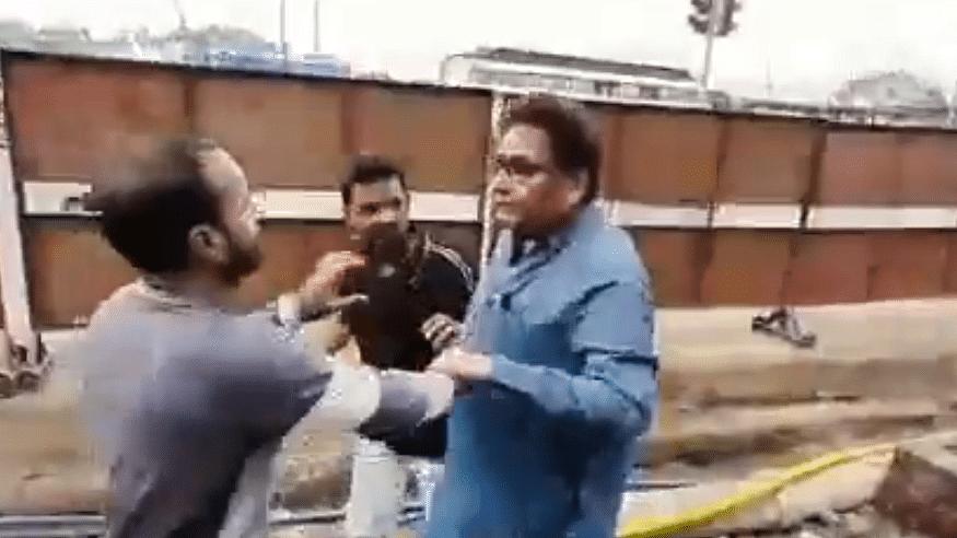 Watch: Maha minister Nawab Malik's brother thrashes labourers