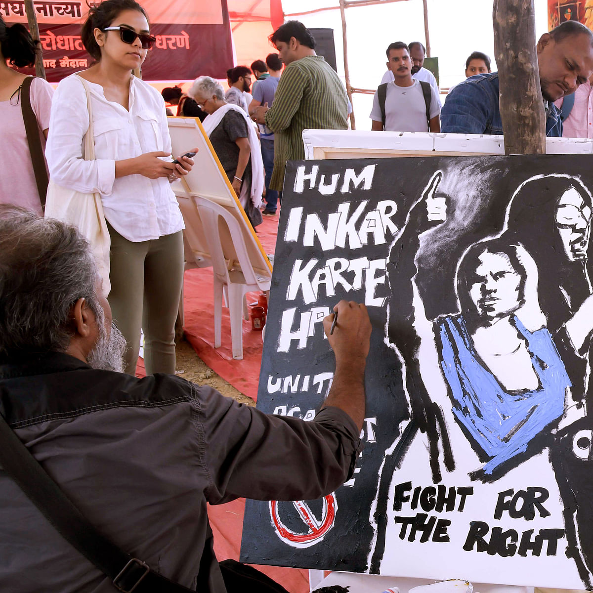 Artists take up brush and paint to protest against CAA, NRC