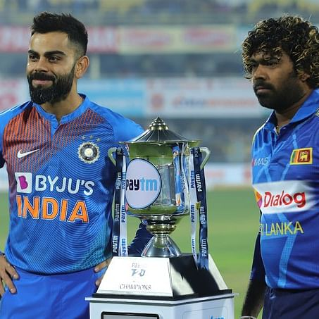 INDvsSL T20: Kohli wins toss and elects to bowl, rains delay start of play