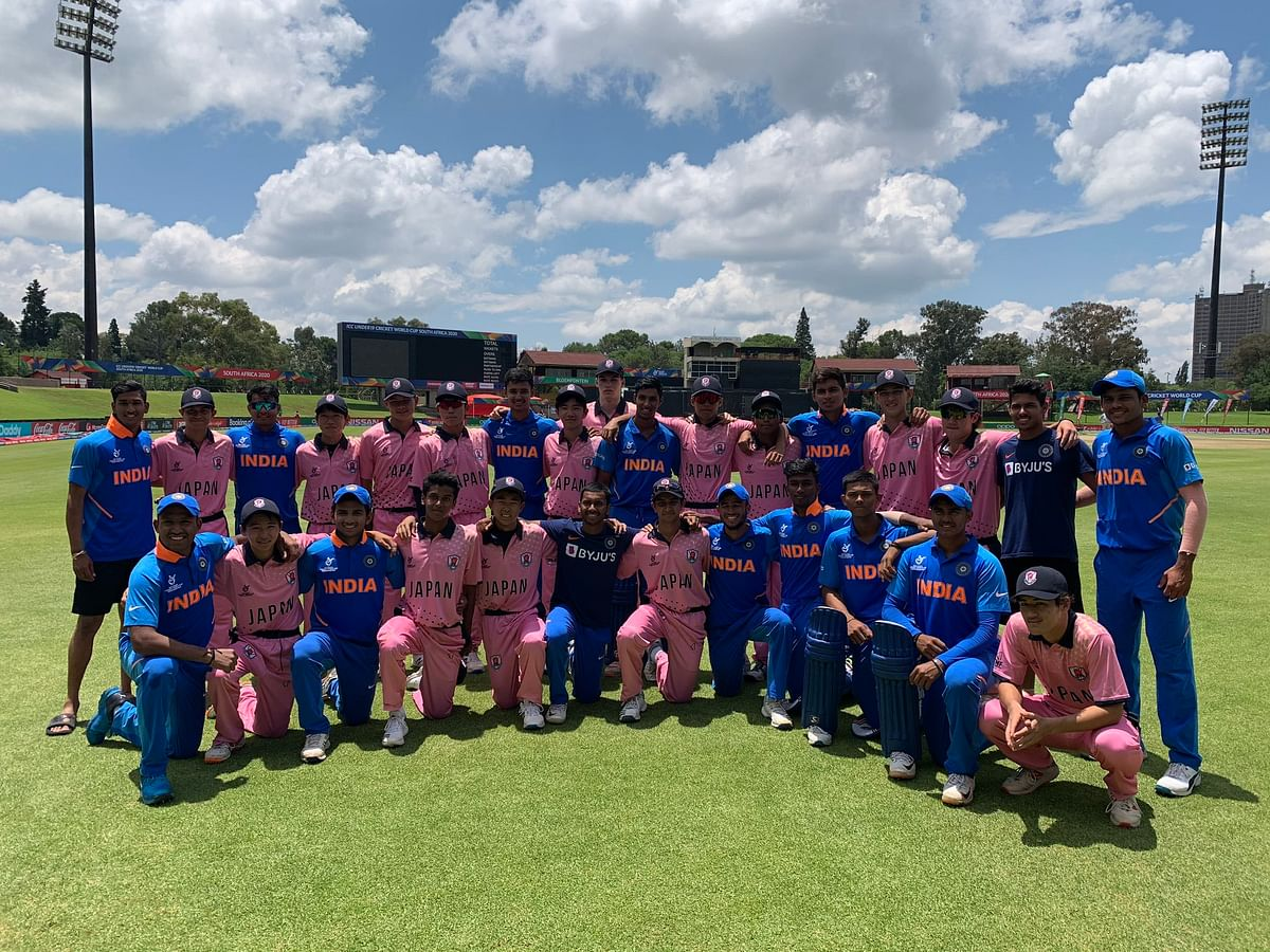 ICC U19 World Cup: India outclass Japan in 10-wicket victory