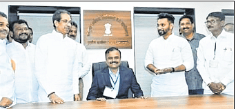 When the CM stood and a tehsildar sat on the chair