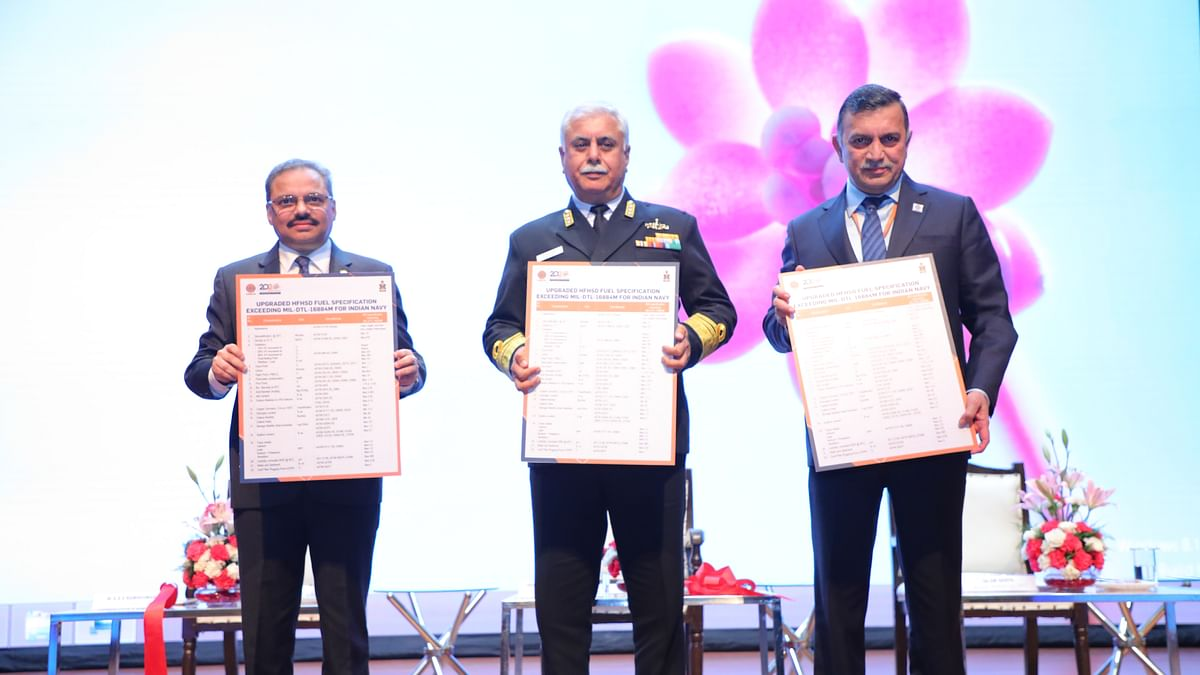 IndianOil launches new fuel exclusively for the Indian Navy