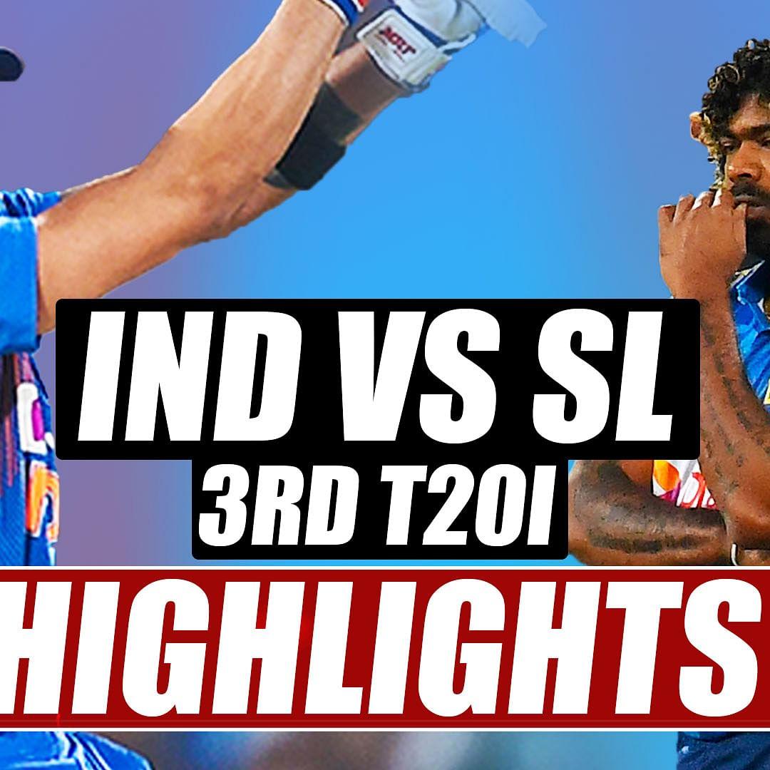 India vs Sri Lanka 3rd T20I Highlights: Just two easy for Kohli's men to grab the series