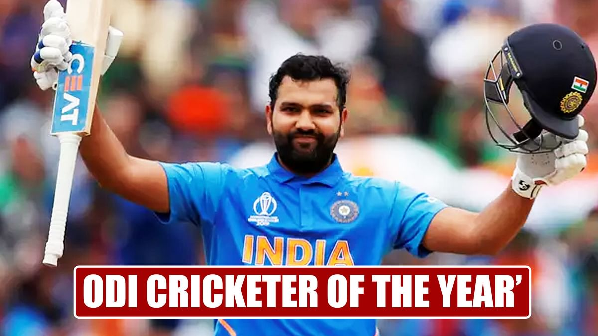 ICC names Rohit Sharma as '2019 ODI Cricketer of the Year'