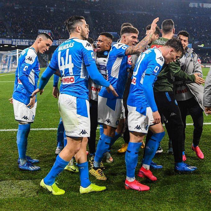 Serie A: Napoli shocks champions Juventus