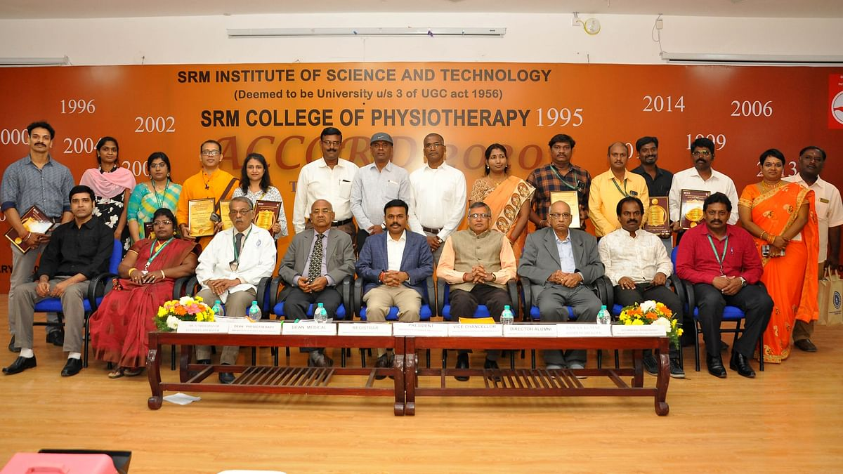 SRM College of Physiotherapy honours its alumni